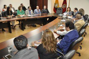 Reunión en CONQUITO